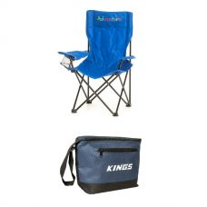 Adventure Kids Camping Chair + Adventure Kings Cooler Bag