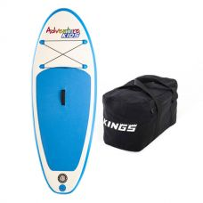 Kids Inflatable Stand-Up Paddle Board + 40L Duffle Bag
