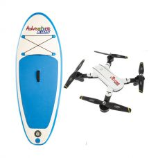 Kids Inflatable Stand-Up Paddle Board + Cyclone Drone