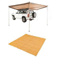 Adventure Kings 270° King Wing Awning + Mesh Flooring 3m x 3m