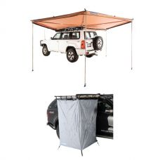 Adventure Kings 270° King Wing Awning + Instant Ensuite
