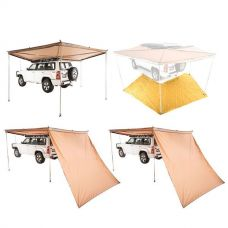 Adventure Kings 270° King Wing Awning + King Wing Mesh Floor + 2x 270° King Wing Awning Wall