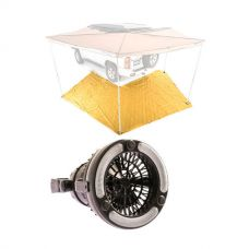 King Wing Mesh Floor + 2in1 LED Light & Fan