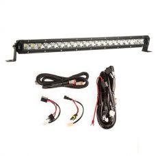 """Kings 20"""" Slim Line LED Light Bar + Smart Harness"""