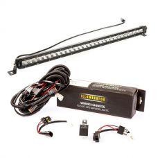 """Kings 30"""" Slim Line LED Light Bar + Bar Wiring Harness"""