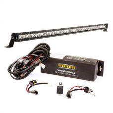 """Kings 40"""" Slim Line LED Light Bar + Bar Wiring Harness"""