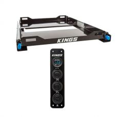 Kings 60L Fridge Slide + Adventure Kings 12V Accessory Panel