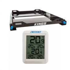 Kings 60L Fridge Slide + Adventure Kings Wireless Fridge Thermometer