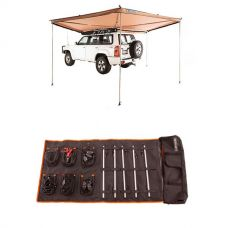 Adventure Kings 270° King Wing Awning + Complete 5 Bar Camp Light Kit