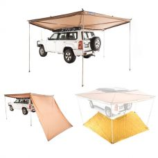 Adventure Kings 270° King Wing Awning + King Wing Mesh Floor + 270° King Wing Awning Wall
