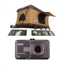 Kings Kwiky MKII Hard Shell Rooftop Tent  + Dash Camera