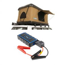 Kings Kwiky MKII Hard Shell Rooftop Tent + Adventure Kings 1000A Lithium Jump Starter