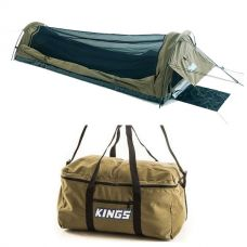 Adventure Kings Single Swag - Kwiky + Travel Canvas Bag