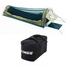 Adventure Kings Single Swag - Kwiky + 40L Duffle Bag