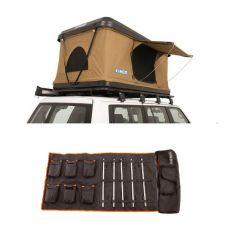 Kings Kwiky MKII Hard Shell Rooftop Tent + 5 Bar Camp Light Kit