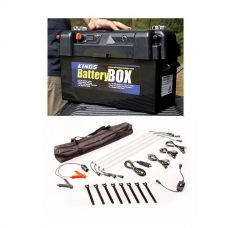 Adventure Kings Maxi Battery Box + Illuminator 4 Bar Camp Light Kit