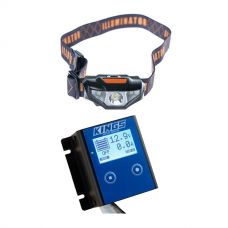 Kings 12V Battery Monitor + LED Head Torch