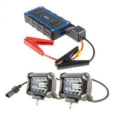 "Adventure Kings Jump Starter + 4"" LED Light Bar"