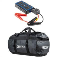 Adventure Kings Jump Starter + 80L Extra-Large PVC Duffle Bag