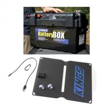 Maxi Battery Box + 10W Portable Solar Kit