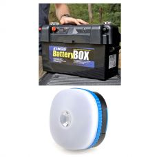 Adventure Kings Maxi Battery Box + Mini Lantern