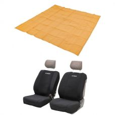 Adventure Kings - Mesh Flooring 3m x 3m + Adventure Kings - Neoprene Front Seat Covers (Pair)