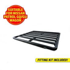 Adventure Kings Aluminium Platform Roof Rack Suitable for Nissan Patrol GQ/GU Wagon 1987-2016