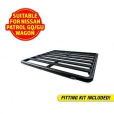 Adventure Kings Aluminium Platform Roof Rack Suitable for Nissan Patrol GQ/GU Wagon 1987-2016