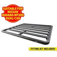 Adventure Kings Aluminium Platform Roof Rack Suitable for Nissan Navara NP300 D23 Dual-Cab 2015+