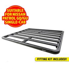 Adventure Kings Aluminium Platform Roof Rack Suitable for Nissan Patrol GQ/GU Single-Cab 1987-2016