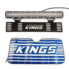 "15"" Numberplate LED Light Bar + Sunshade"