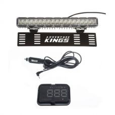 "Kings 15"" Numberplate LED Light Bar + Heads Up Display (HUD)"