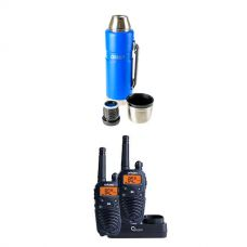 Oricom UHF380PK In-Car 5W CB Radio + Kings 1.2L Vacuum Flask