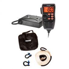 Oricom UHF380PK In-Car 5W CB Radio + Hercules Snatch Strap Kit