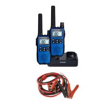 Oricom Handheld UHF CB Radio Twin Pack - UHF2190 + Adventure Kings Heavy-Duty Jumper Leads