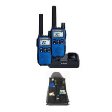 Oricom Handheld UHF CB Radio Twin Pack - UHF2190 + Adventure Kings Car Seat Organiser