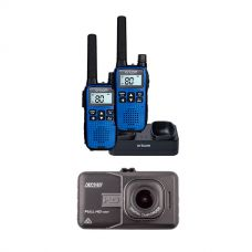 Adventure Kings Dash Camera + Oricom Handheld UHF CB Radio Twin Pack - UHF2190