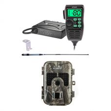 Oricom UHF380PK In-Car 5W CB Radio + Adventure Kings Trail/Game Camera