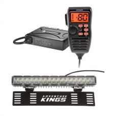 "Oricom UHF380PK In-Car 5W CB Radio + 15"" Numberplate LED Light Bar"