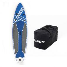 Adventure Kings Inflatable Stand-Up Paddle Board + 40L Duffle Bag