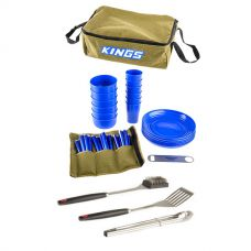 Adventure Kings 37 Piece Picnic Set + BBQ Tool Set