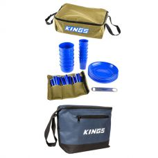 Adventure Kings 37 Piece Picnic Set + Adventure Kings Cooler Bag