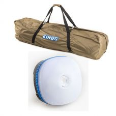 Adventure Kings Polyester Swag Bag + Mini Lantern