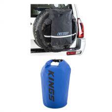 Kings Premium 48L Dirty Gear Bag + 15L Dry Bag