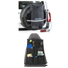 Kings Premium 48L Dirty Gear Bag + Car Seat Organiser