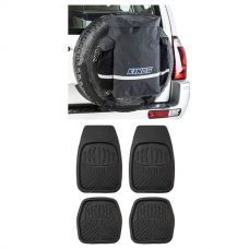 Kings Premium 48L Dirty Gear Bag + Deep Dish Floor Mats Set of 4