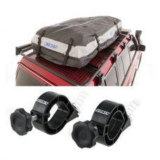 Adventure Kings Premium Waterproof Roof Top Bag + Platform Roofrack Shovel Holder (Pair)