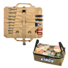 Adventure Kings Clear Top Canvas Bag + Adventure Kings Premium Tool Roll