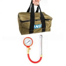 Adventure Kings Canvas Recovery Bag + Tyre Gauge