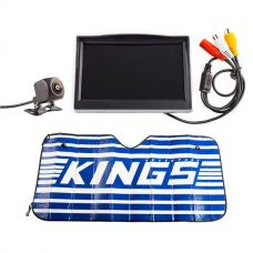 "Adventure Kings Reverse Camera Kit with 5"" Screen + Sunshade"
